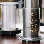 Aeropress coffee brewers make single cups of coffee