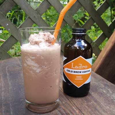 Frozen Mocha and Summer Ladro Coffee Drinks