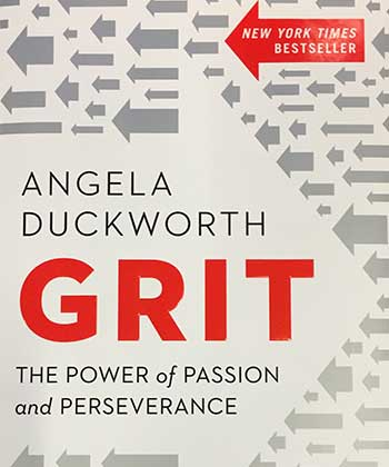 Grit by Angela Duckworth is a Grit Ladro Book Club selection