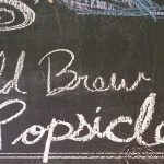 Cold Brew Coffee Popsicles are refreshing
