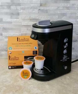Making Home Brewing Easy with and IFill single cup coffee brewer and single serving ladro cups
