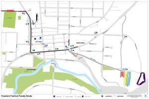 Celebrate July Fourth in Bothell Parade Map